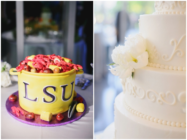 unique grooms cake photos LSU