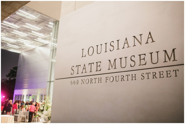 Louisiana State Museum wedding pictures