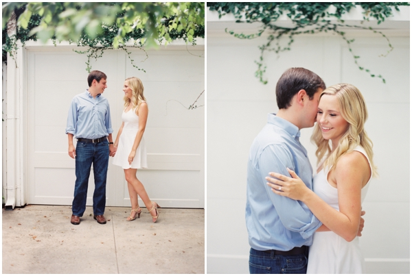 romantic outdoor engagement pictures