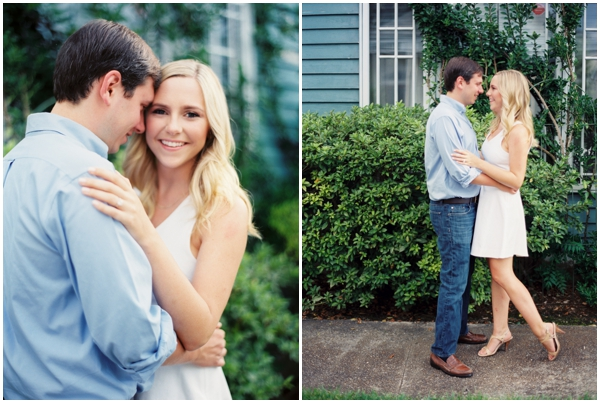 romantic Nola engagement photos